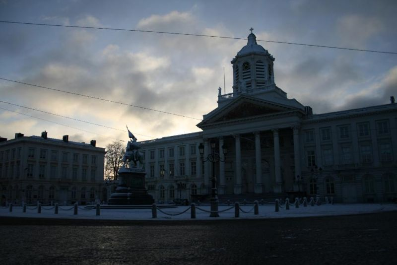 La Place royale au lever du soleil