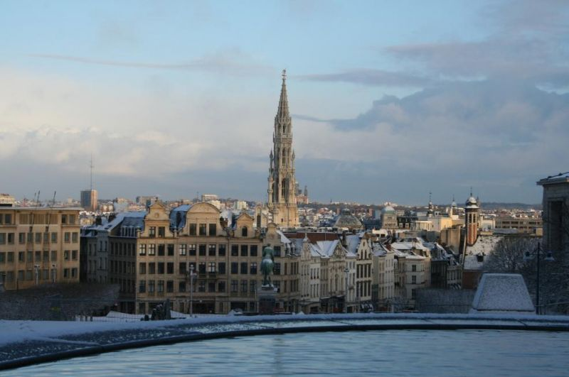 Photos du jour : Bruxelles sous la neige (3/9) dans Bruxelles 12