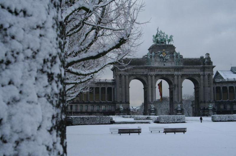 Photos du jour : Bruxelles sous la neige (5/9) dans Bruxelles 22