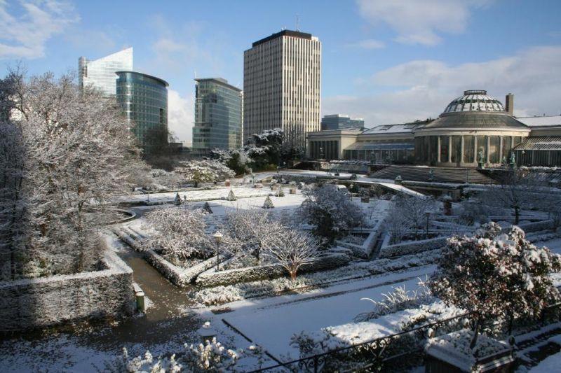 Photos du jour : Bruxelles sous la neige (7/9) dans Bruxelles 32