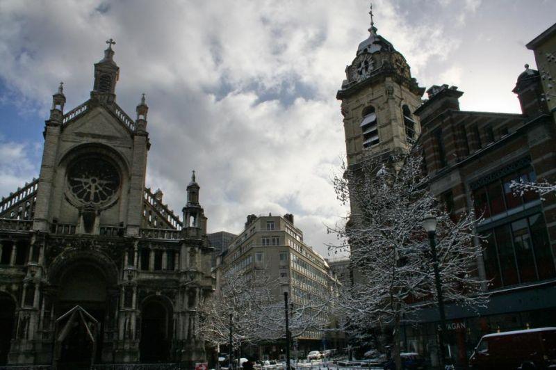 Photos du jour : Bruxelles sous la neige (8/9) dans Bruxelles 37