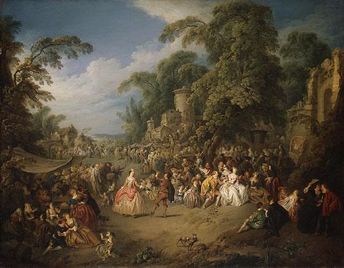 PATER J.-B.-J., Foire de Bezons, Metropolitan Museum of Art, New York