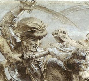 Le Choc des Titans dans Peinture angh01