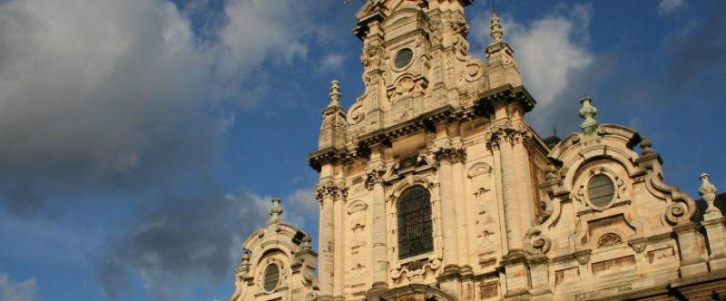 L'Eglise du Béguinage, Bruxelles dans Bruxelles faade