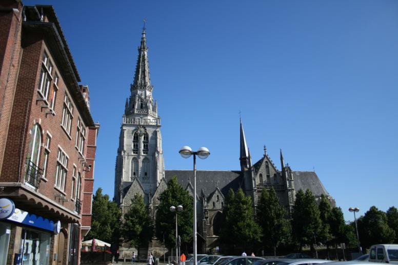 Panoramique de Bruxelles et Saint-Guidon à Anderlecht dans Bruxelles 011
