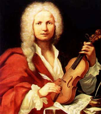 Supposed portrait of Vivaldi